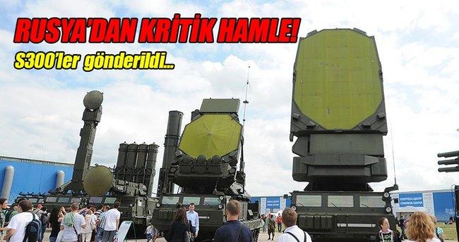 Rusya Suriye'ye S-300 gönderdi
