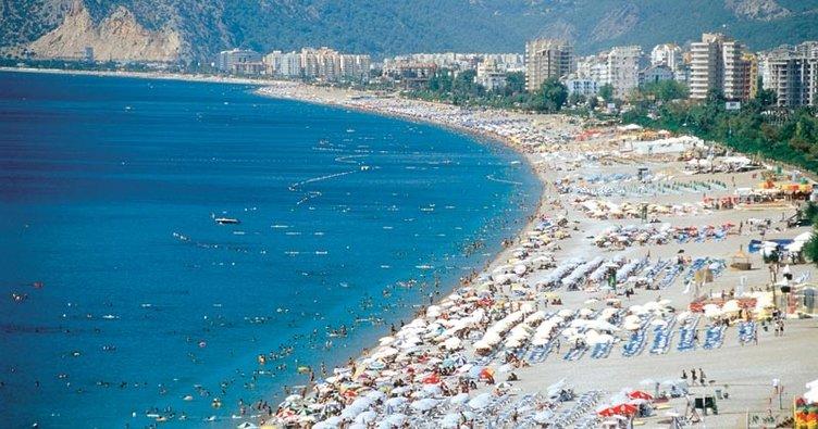 Antalya'da boş yer yok!