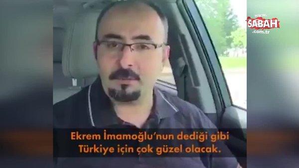 Firari FETÖ'cü Emre Uslu'dan İmamoğlu'na mesaj