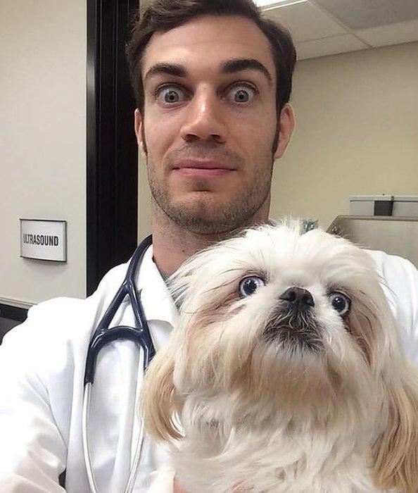 Dünyanın en yakışıklı veterineri!