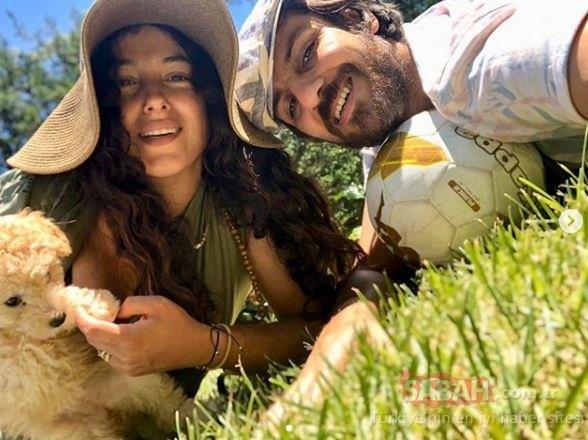 Cansu Tosun'un karnı burnunda güneşlenirken paylaştığı fotoğraflar sosyal medyayı salladı! Bebeği Marsel'i kucağına almak için gün sayıyor…