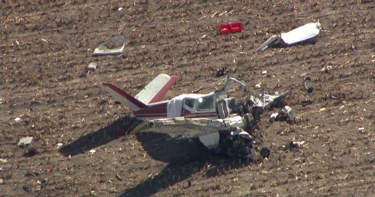 ABD'de uçak kazası : 4 ölü