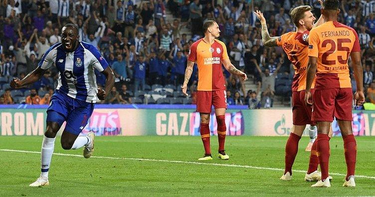 Galatasaray oynadı, Porto kazandı