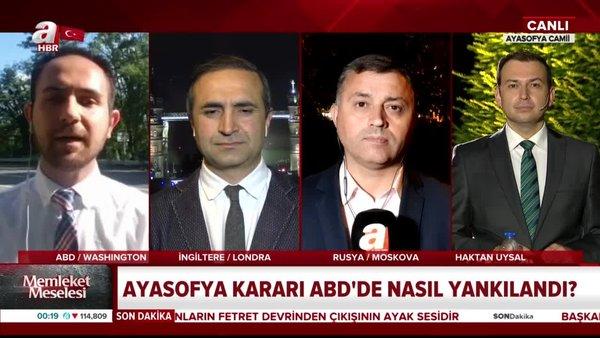 Dünya basını Ayasofya'yı konuştu | Video
