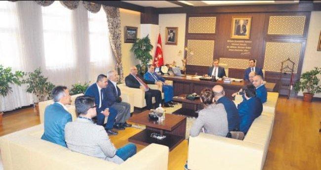 Dost Partisi'nden Başkan Çetin'e ziyaret