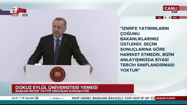 Başkan Erdoğan 'Bay Kemal' olmak kolay değil dedi ve tek tek sıraladı