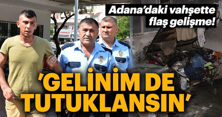 Adana'daki vahşette flaş gelişme! Bebeğin yaralandığı kundaklamada aileler birbirini suçladı