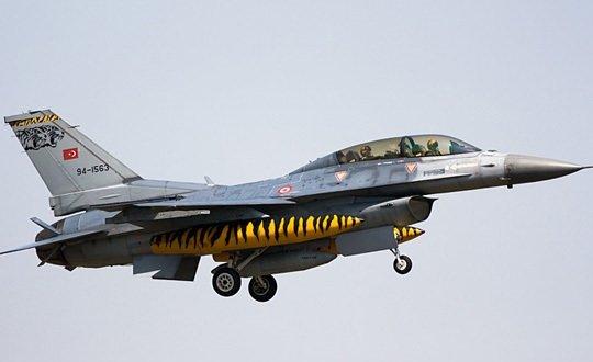 Türkiye'deki F-16 kazaları
