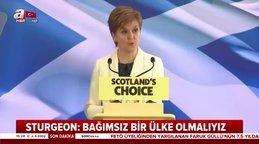 Son dakika! Brexit sonrası İskoçya'dan bağımsızlık hamlesi | Video