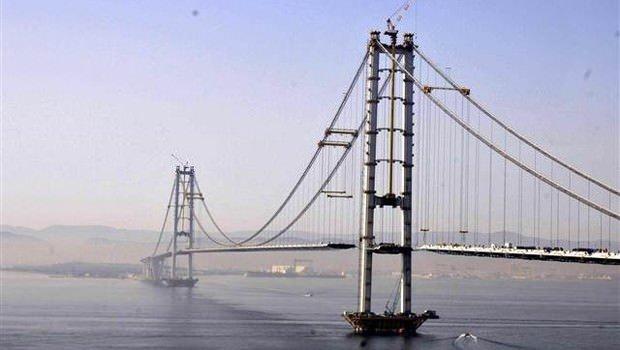 İzmit Körfezi Köprüsü'nün bitmesine çok az kaldı