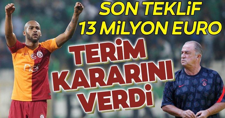 Son dakika Galatasaray transfer haberi! Fatih Terim'den Marcao karar! 13 milyon euro...