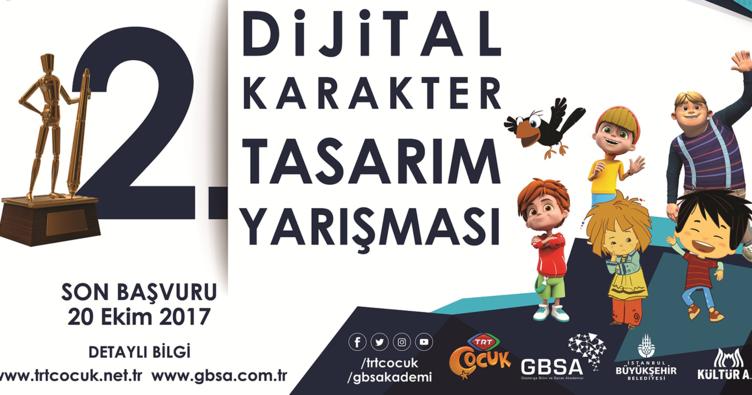 TRT Çocuk 2. Dijital Karakter Yarışması Başladı!