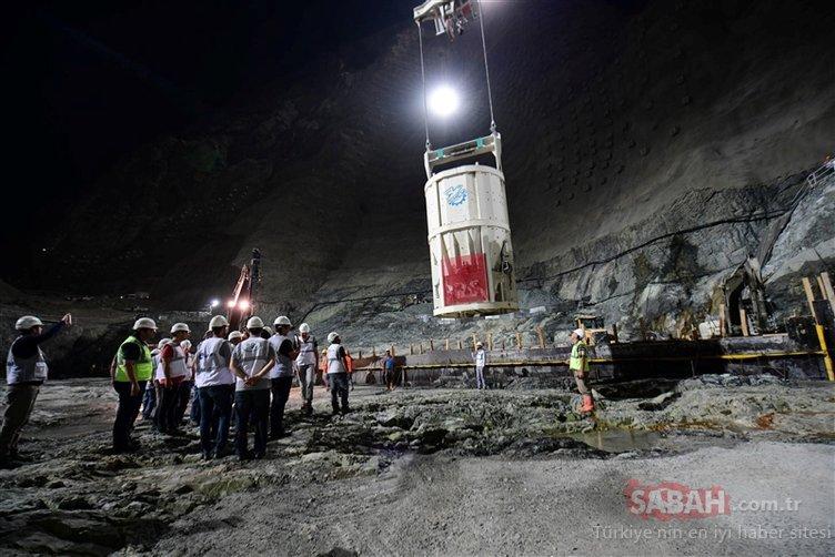 Yusufeli barajında sona gelindi! Türkiye'nin en yüksek barajı olacak...