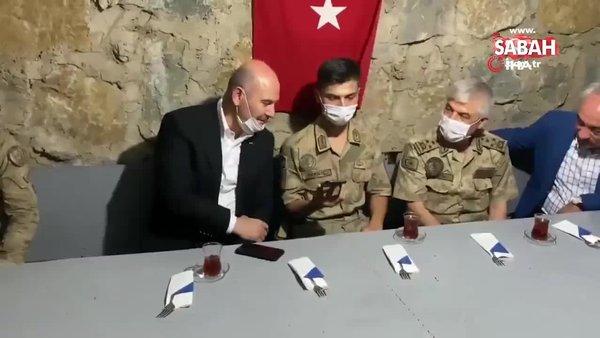 İçişleri Bakanı Süleyman Soylu, Şırnak'ta | Video