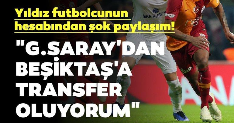Marcao'nun hesabından şok paylaşım! Galatasaray'dan Beşiktaş'a...