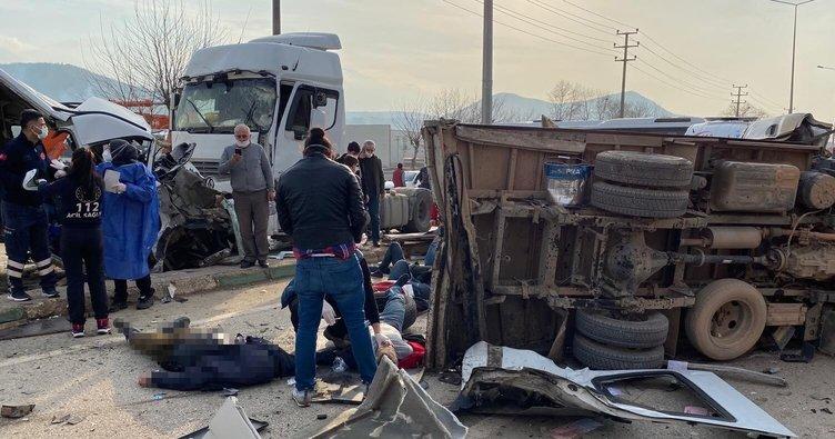 Trafikte acı bilanço! Bursa'da 5 ayda 28 kişi trafik kazasında öldü