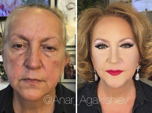 Makyajla gelen büyük değişim!