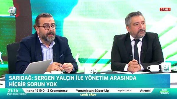 Emre Bol: Sergen Yalçın'ın Fenerbahçe'de çalışmasını isterim