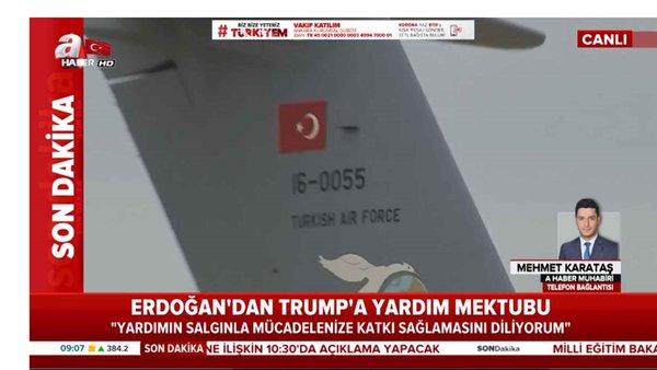 Cumhurbaşkanı Erdoğan'dan ABD Başkanı Trump'a mektup