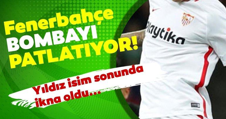 Son dakika Fenerbahçe yılın transfer bombasını patlatıyor! Yıldız isim sonunda ikna oldu...