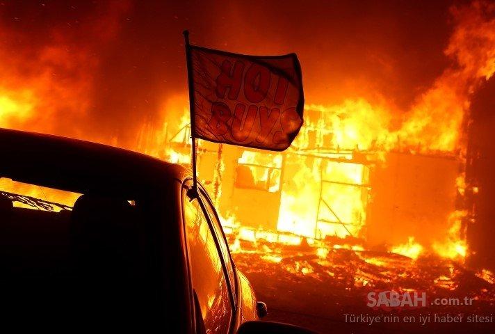 Kaliforniya'daki orman yangını! Paradise kasabasını harabeye çevirdi