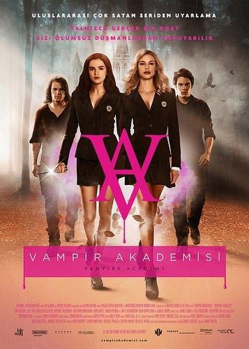 Vampir Akademisi filminden kareler