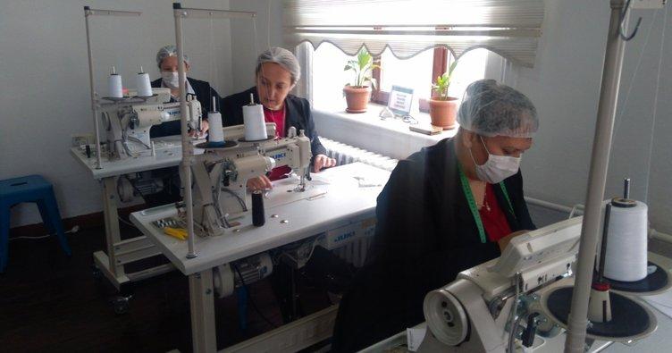 Muğla'da maske üretimine tam gaz devam: Hedef 100 bin maske