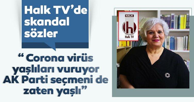 Halk TV'de Şeyda Taluk'tan AK Parti seçmeni hakkında skandal sözler