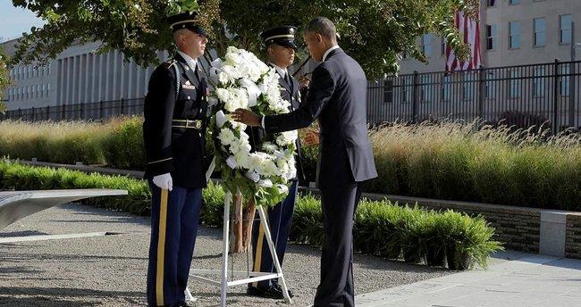 ABD Başkanı Obama, Pentagon'da düzenlenen törene katıldı