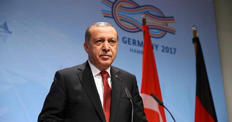 Cumhurbaşkanı Erdoğan Almanya'dan ayrıldı