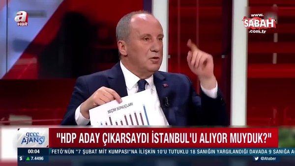Muharrem İnce'den CHP'yi zora sokacak soru   Video
