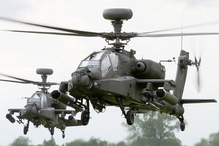 ABD çareyi Apache'de buldu