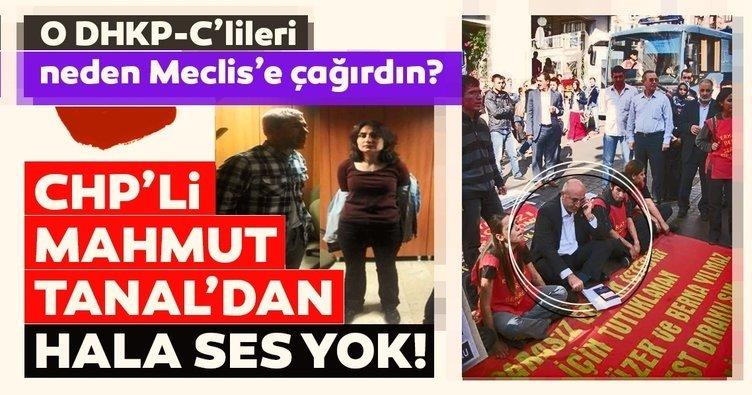 DHPK-C'li teröristleri Meclis'e CHP'li Tanal çağırmış
