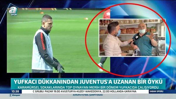 Milli Futbolcu Melih Demiral'ın Karamürsel'den Juventus'a uzanan başarı öyküsü! Melih Demiral'a o yufkacı ustasından mesaj...