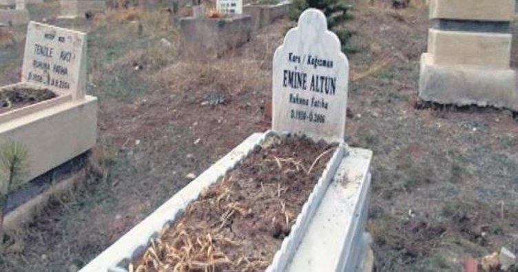 Mezarlıkta bebek vahşeti