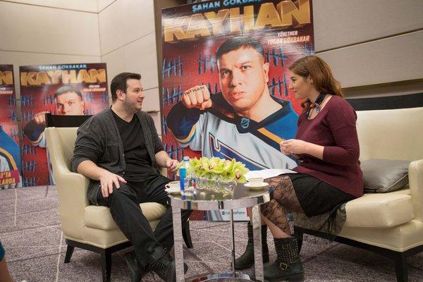 Şahan Gökbakar, yeni filmi Kayhan ile ilgili konuştu