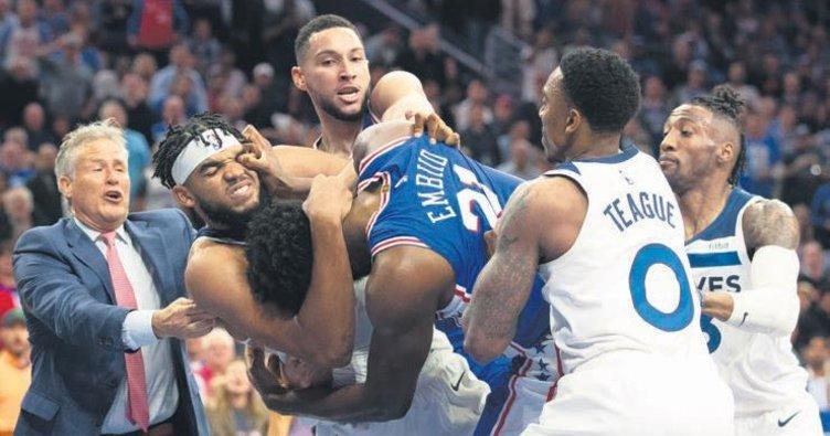 NBA boks ringi