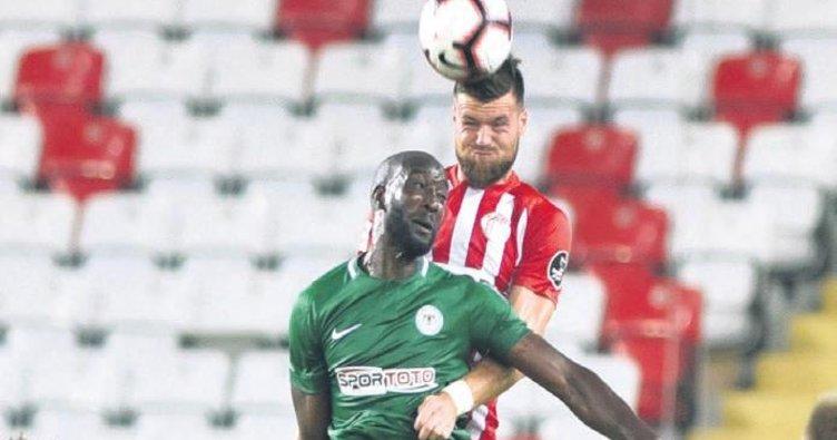 Antalya'da 3'er gol 1'er puan