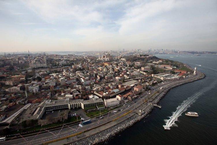 Gökyüzünden İstanbul fotoğrafları