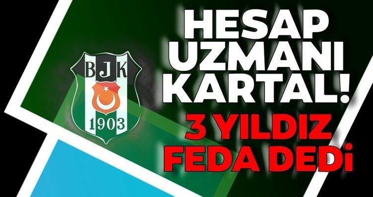 Beşiktaş'ta 3 yıldız feda dedi! 7.5 milyon Euro kasada kalacak