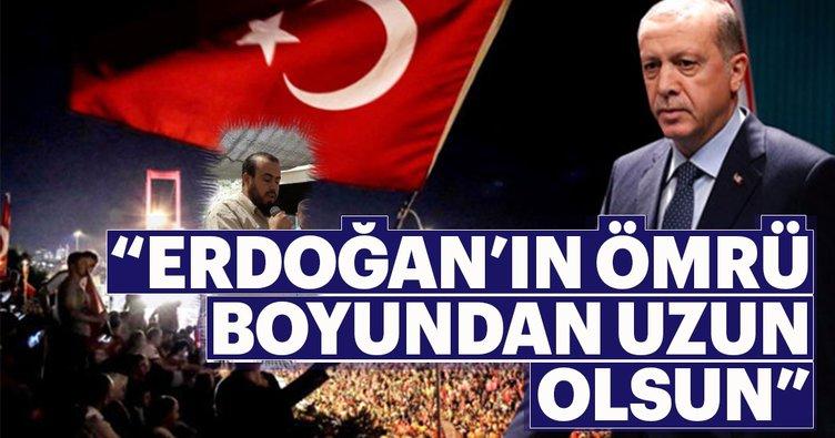 """""""Erdoğan'ın ömrü boyundan uzun olsun"""""""
