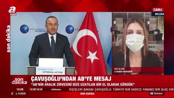 Son dakika! AB ile yeni sayfa açılacak mı? Dışişleri Bakanı Mevlüt Çavuşoğlu'dan flaş açıklamalar | Video