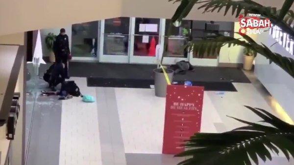 ABD'de alışveriş merkezinde silahlı saldırı: 1 ölü, 1 yaralı | Video