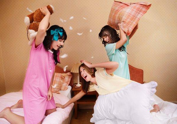 En çılgın pijama partileri!