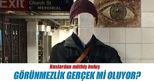 Ruslar görünmezlik maddesi icat etti