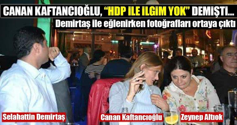 Canan Kaftancıoğlu'nun Selahattin Demirtaş ile eğlenirken fotoğrafları ortaya çıktı
