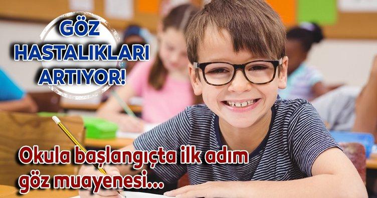 Okul döneminde göz hastalıkları artıyor!