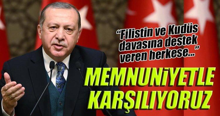 Cumhurbaşkanı Erdoğan BM kararını değerlendirdi