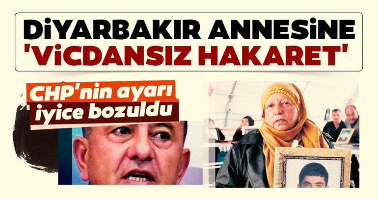 Diyarbakır annesine 'vicdansız' hakaret
