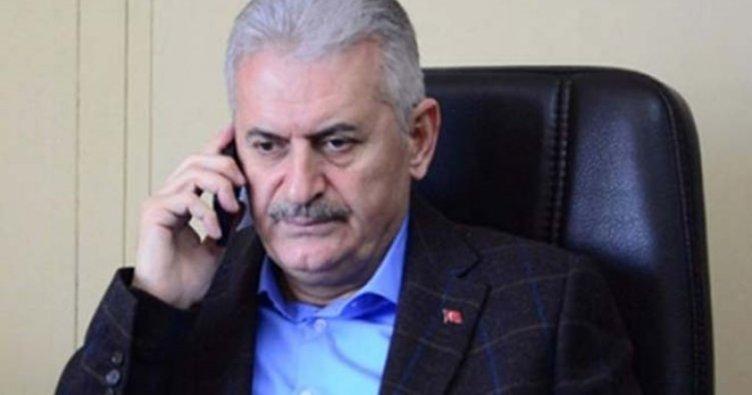 Başbakan Binali Yıldırım'dan İbrahim Erkal'ın eşine taziye telefonu!